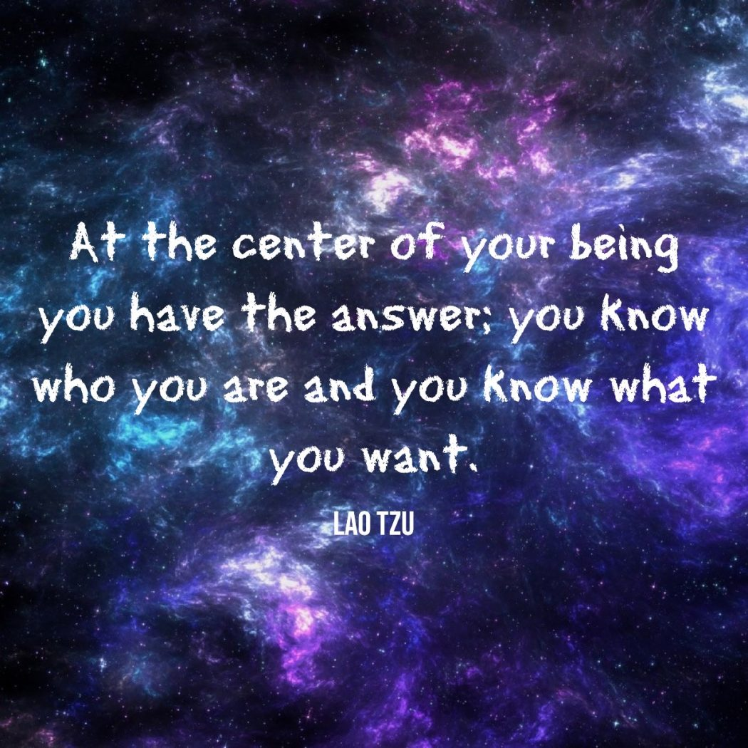 At The Centre Of Your Being You Have The Answer - People Development Magazine