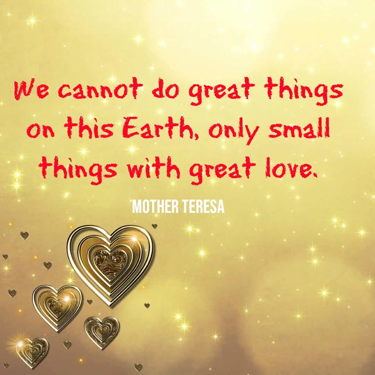 We Cannot Do Great Things On This Earth - People Development Magazine