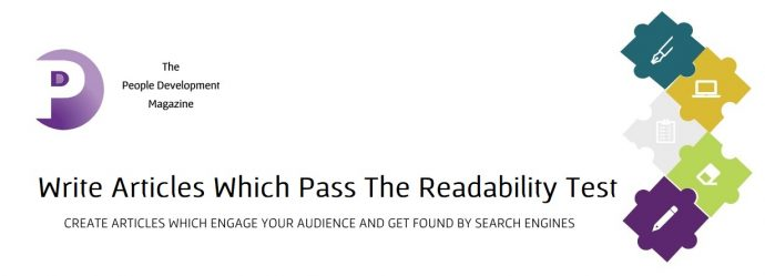 Write Articles Which Pass The Readability Test - People Development Magazine