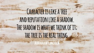 Character Is Like A Tree - People Development Magazine