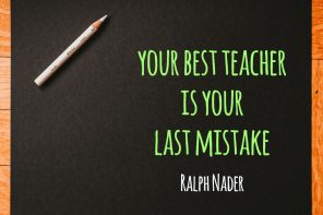Your Best Teacher Is Your Last Mistake - People Development Magazine